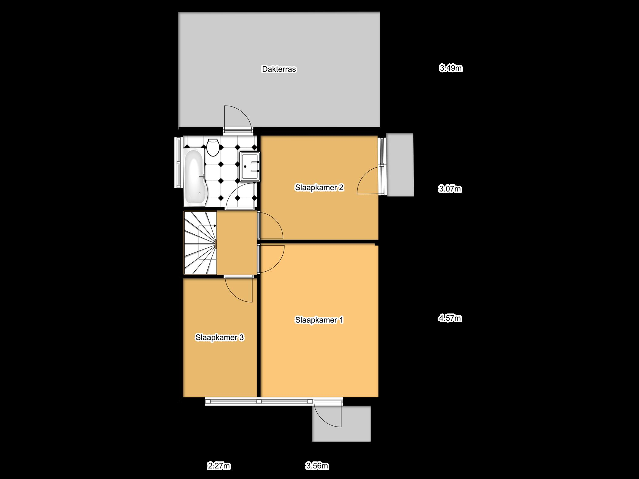 Woonhuis te koop bergerstraat 61 maastricht - Model betegelde badkamer ...
